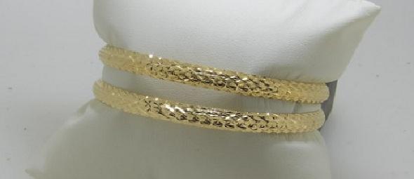 bracelet rigide massif