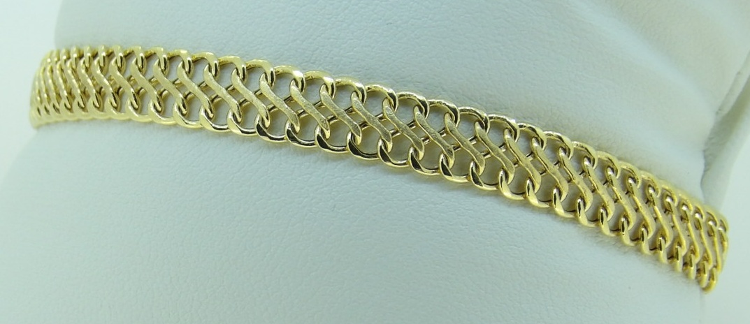 collier russe or 18 carats