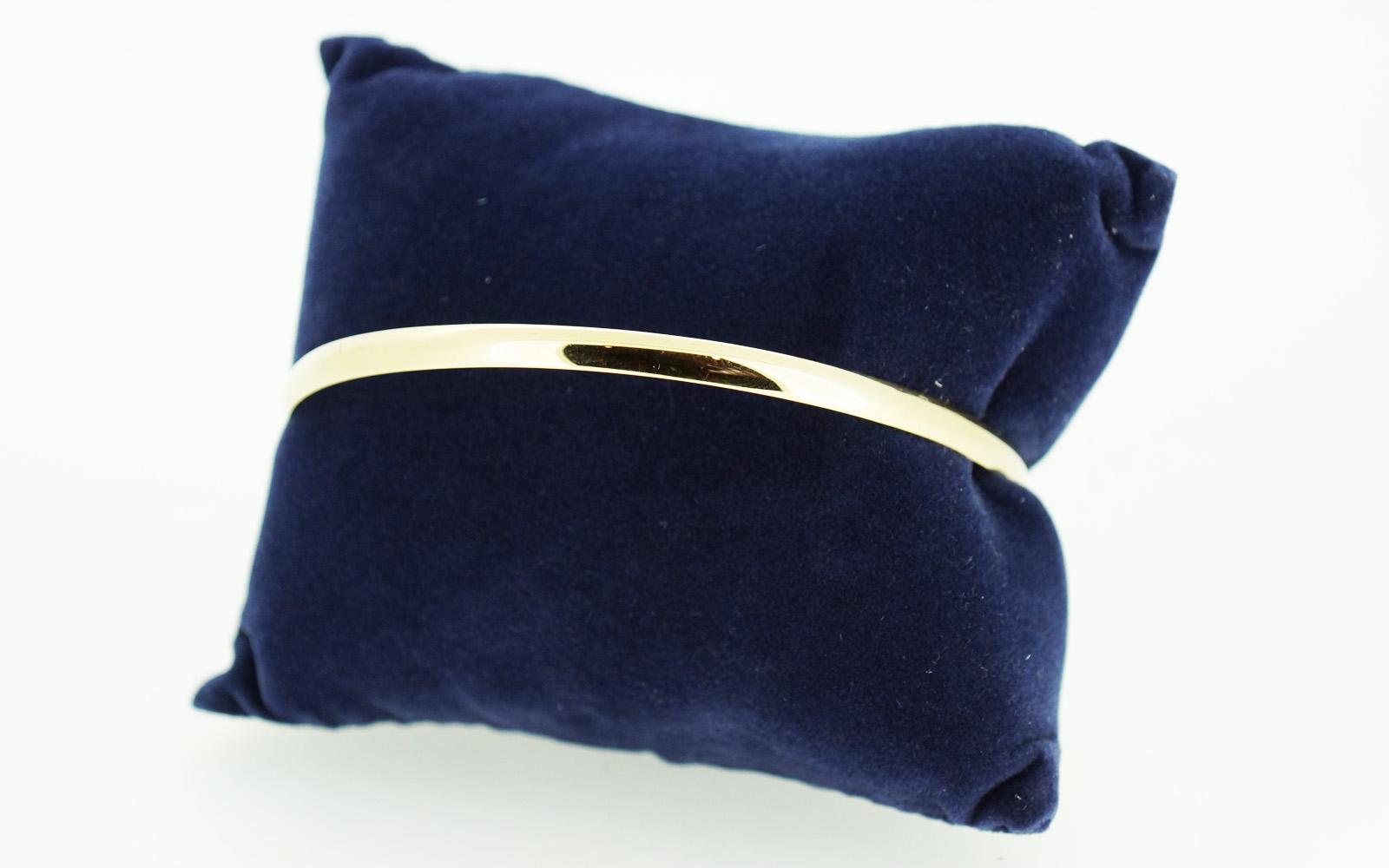 Bracelet Rigide Massif Or 18 Carats
