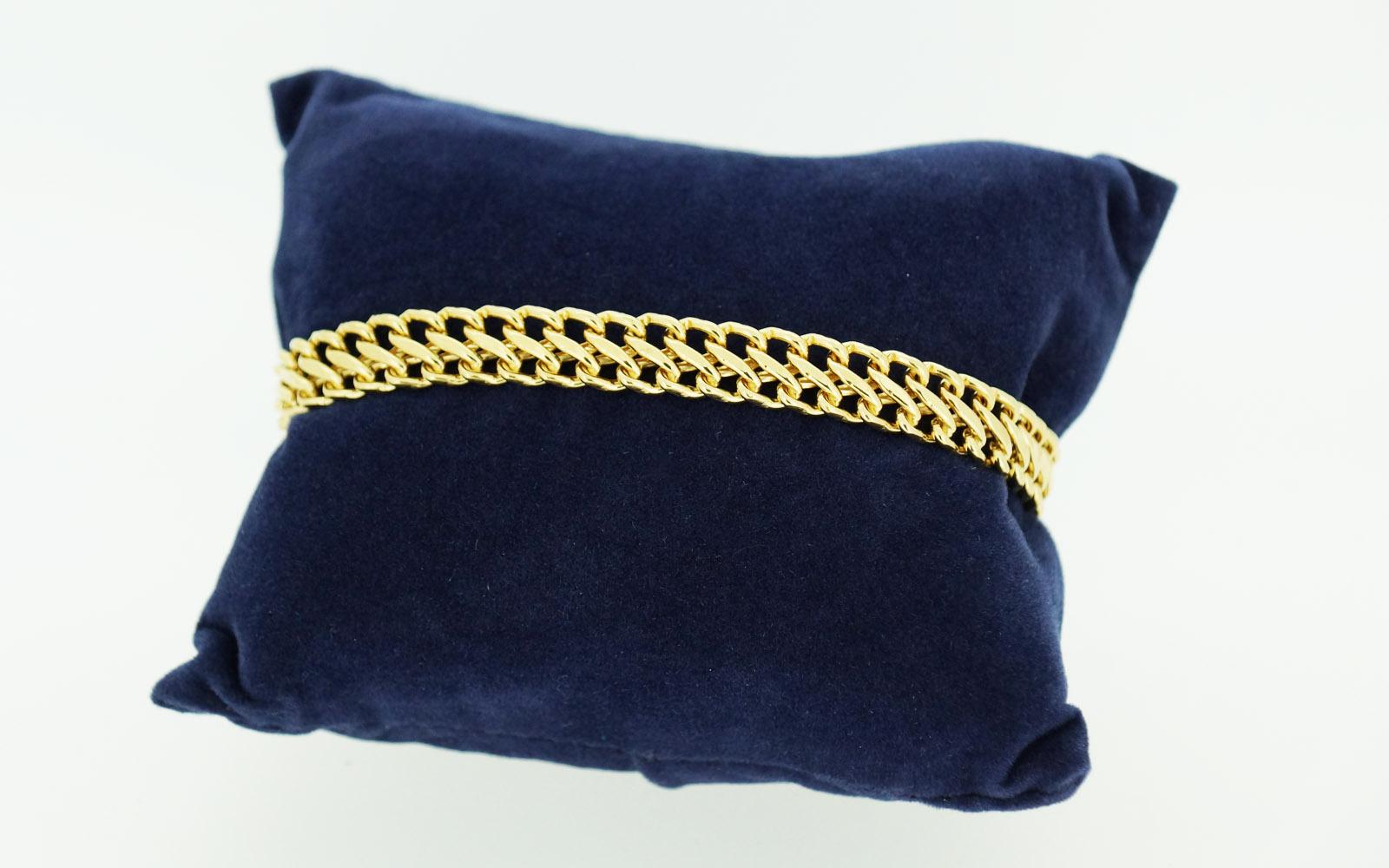Bracelet Or 18 Carats Maille Russe