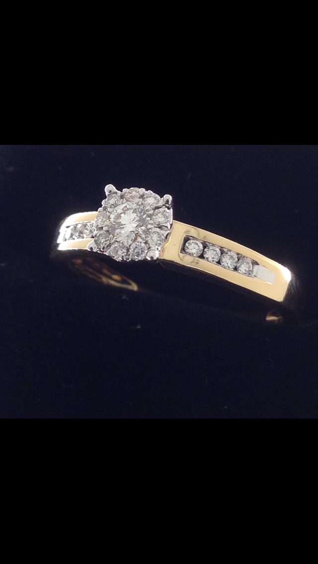 Bague Diamants Or 18 Carats