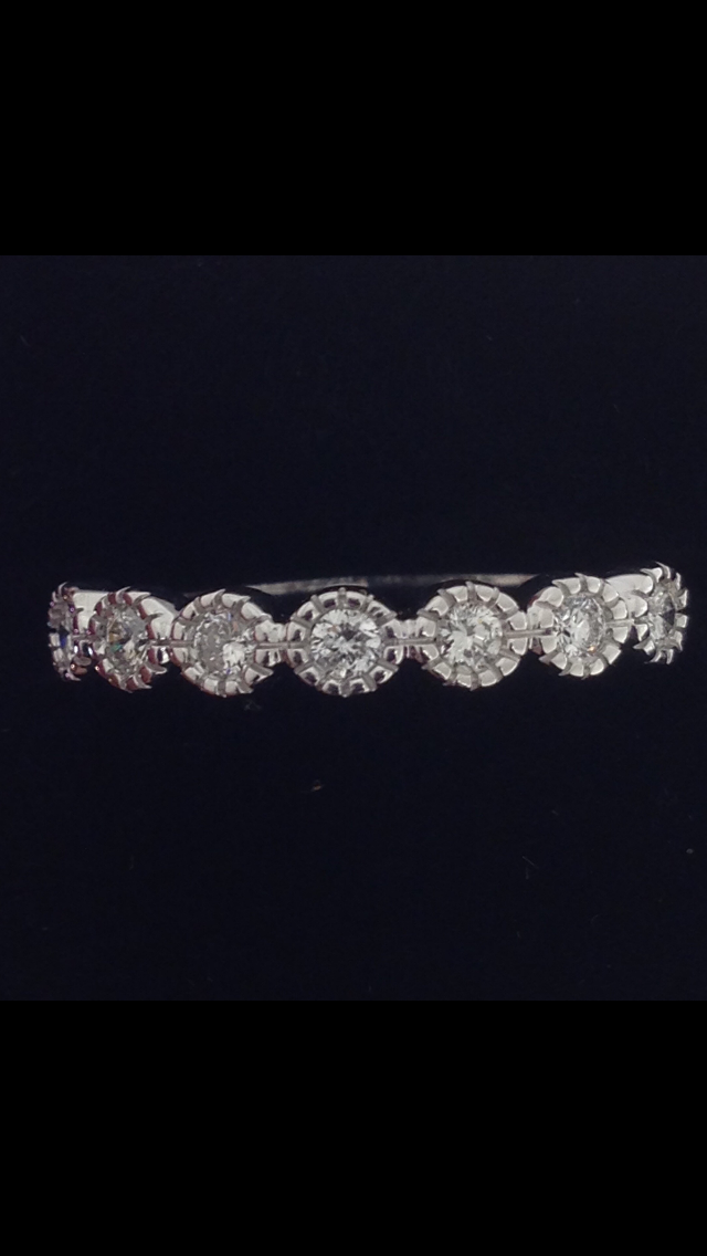 Alliance diamants or blanc 18 carats