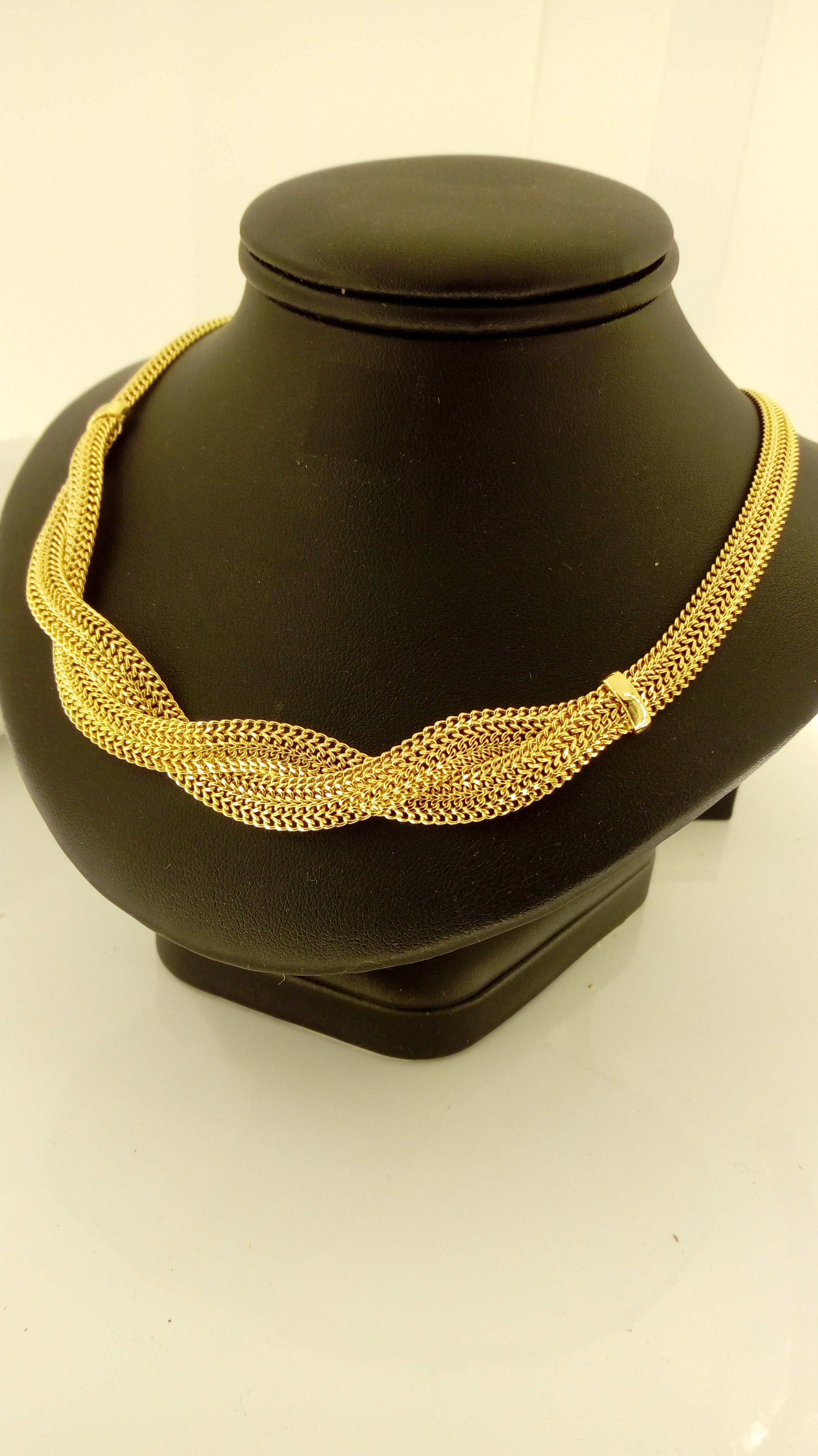 Collier Or 18 Carats Maille Sissi