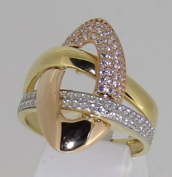 bague-or-jaune-18-carats-oxydes-de-zirconium