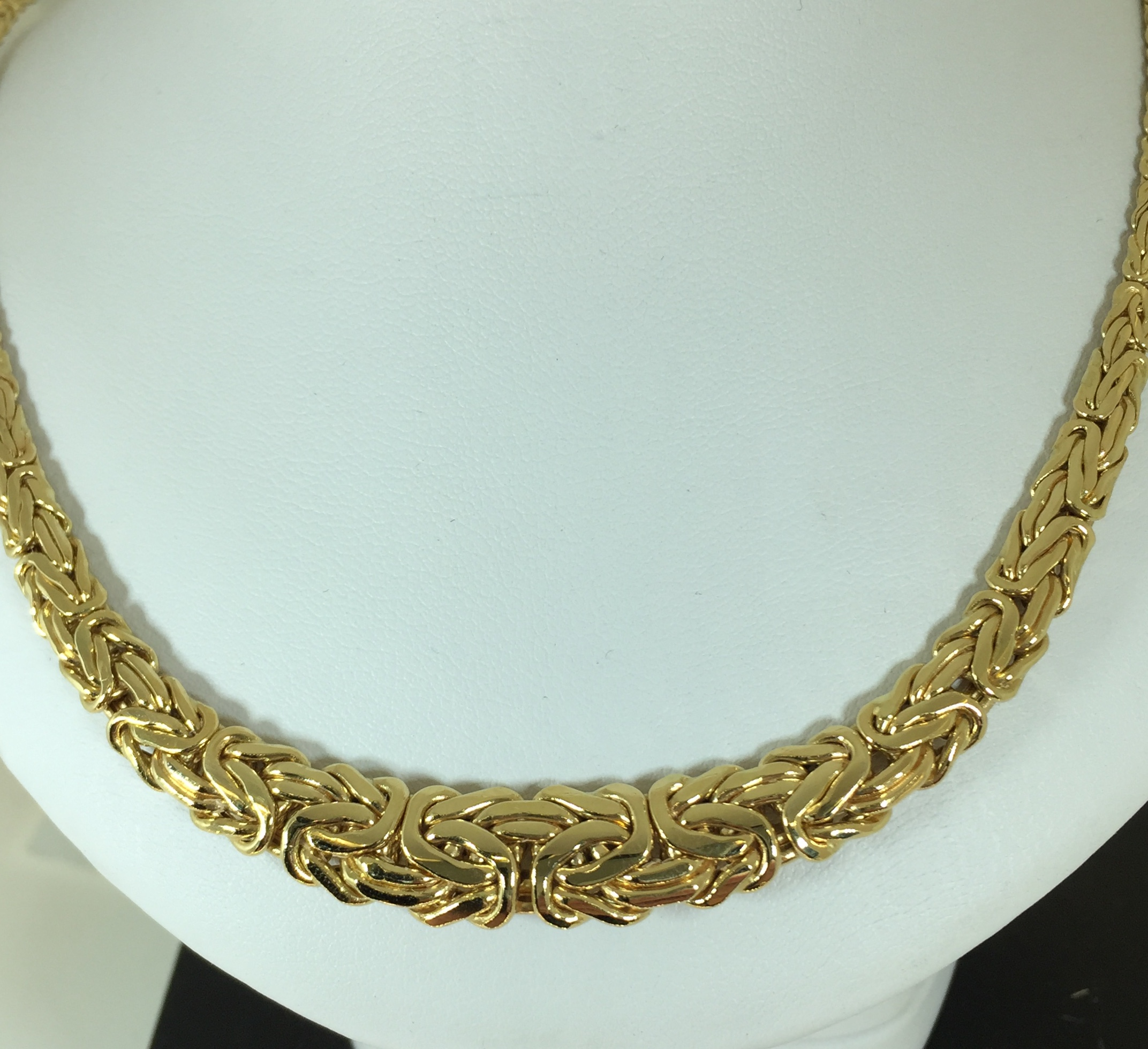Collier Or 18 Carats Maille Royale