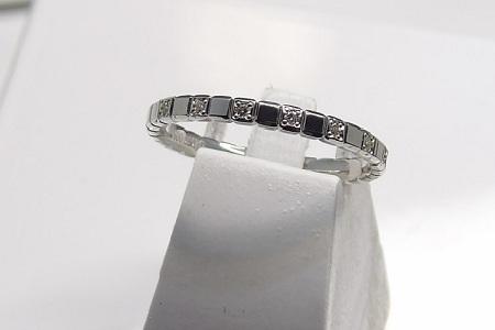 Alliance Or 18 Carats Et Diamants