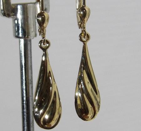 Boucles D'oreilles-pendantes-or 18 Carats-bijouterie Jouvenel